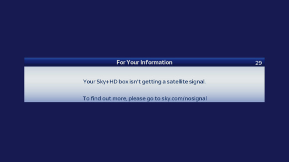 39 no satellite signal 39 how to fix it berkshire aerial - Can you watch sky box office on sky go ...